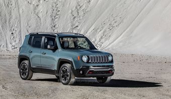 Jeep Renegade, модель Jeep Renegade, машина Jeep Renegade
