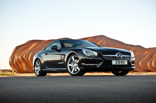 Модель Mercedes-Benz SL, Mercedes-Benz SL