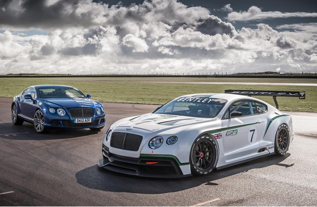Компания Bentley, Continental GT3